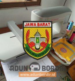 Bordir Logo Kwarda Jabar Tanpa Minimal Order
