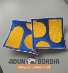 Tempat Jasa Pembuatan Patch Logo PU Bordir