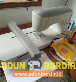 Mesin Bordir Portable Untuk Pengerjaan Bordir Satuan
